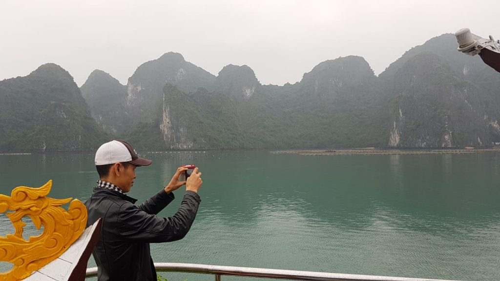 Halong bay weather in February, halong bay tours, cozy bay classic cruise