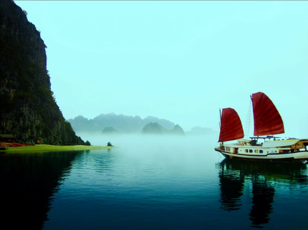 halong bay weather in january, halong bay overnight cruise, cozy bay classic cruise, cozy bay cruise