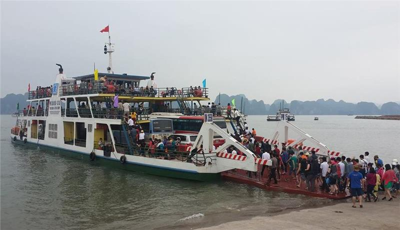 Ferry to Cat Ba Island from Halong Bay every day