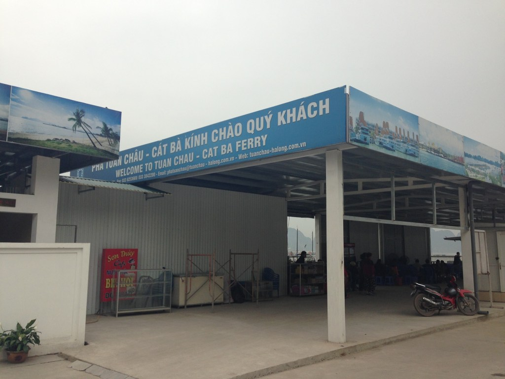 Halong bay to Cat Ba Island by ferry