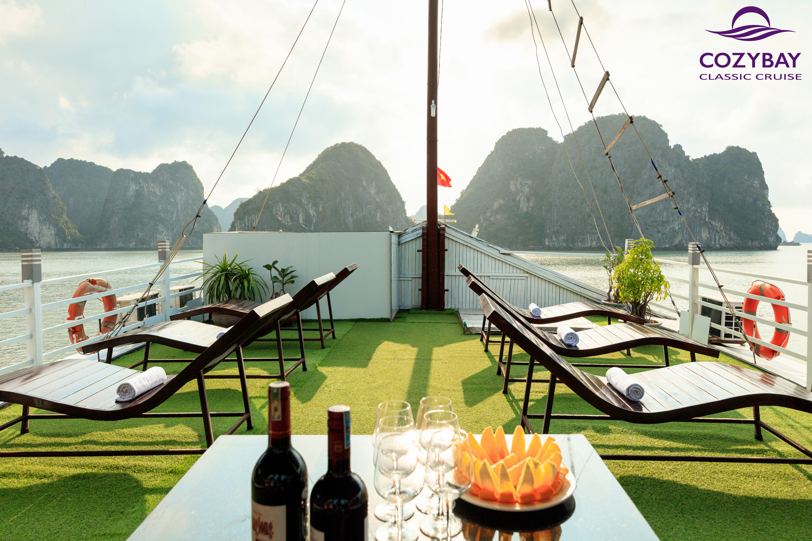 halong bay Cruise, cozy bay cruise halong bay
