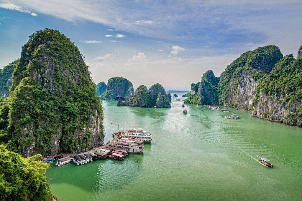 halong bay weather in May, halong bay vietnam