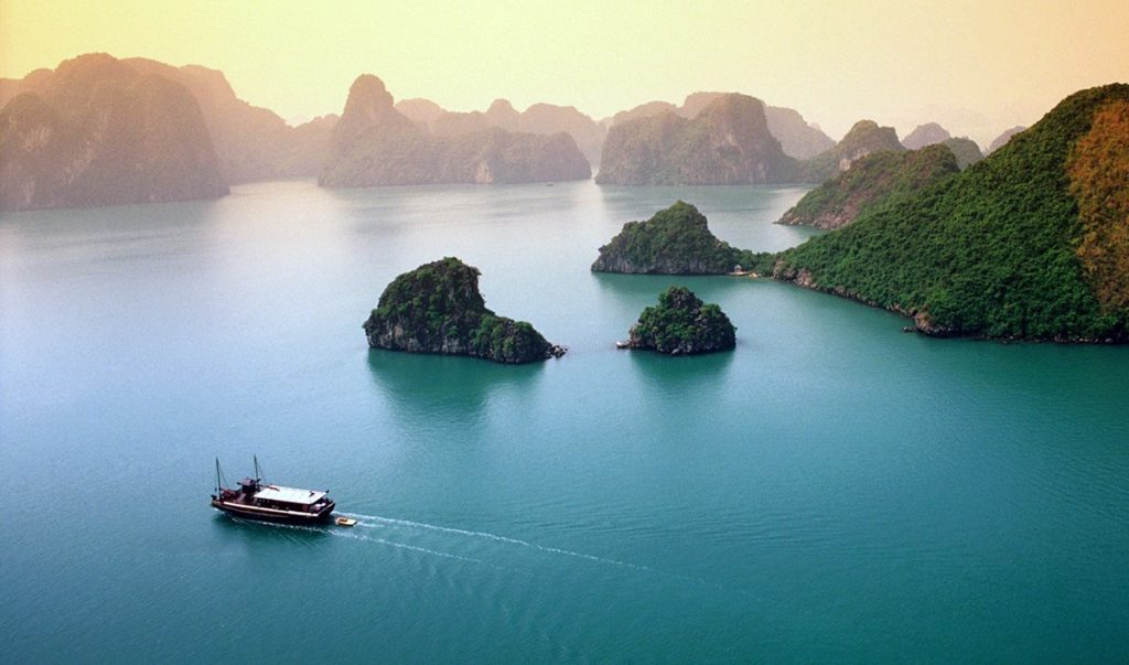 halong bay weather in September, halong bay weather, cozy vietnam travel