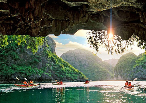 luong cave halong bay, Luon Cave, Halong cave