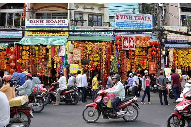 China-Town-in-Ho-Chi-Minh-City-of-Vietnam