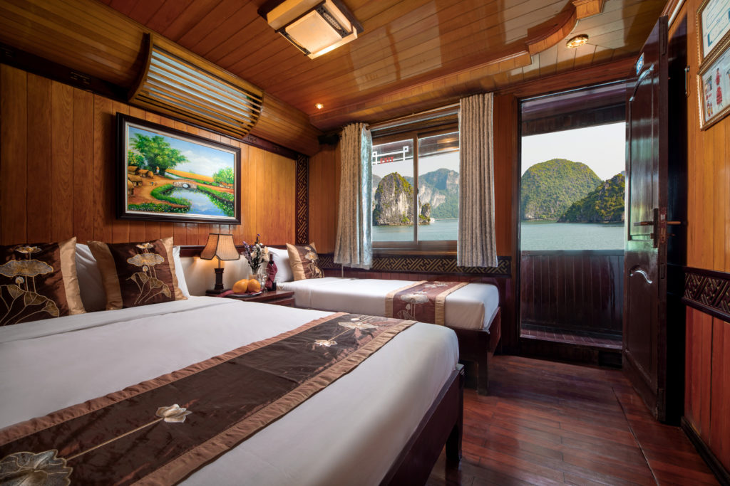 Cozy Bay Cruise deluxe Family Cabin, haling bay cruise
