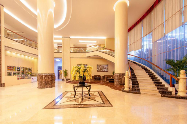 Grand muong thanh hotel in thanh hoa, cozy vietnam travel
