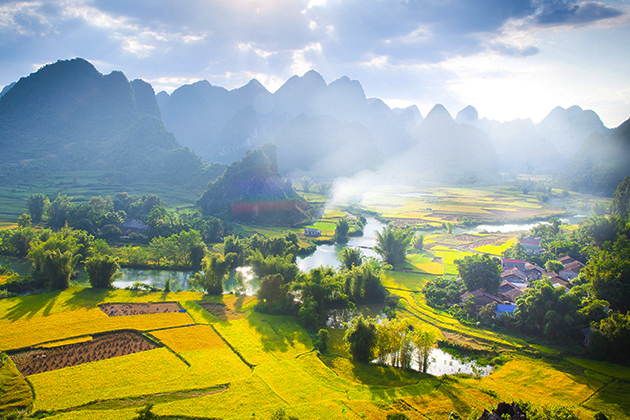 the best time to visti cao bang province vietnam, vietnam package tours, vietnam daily tours