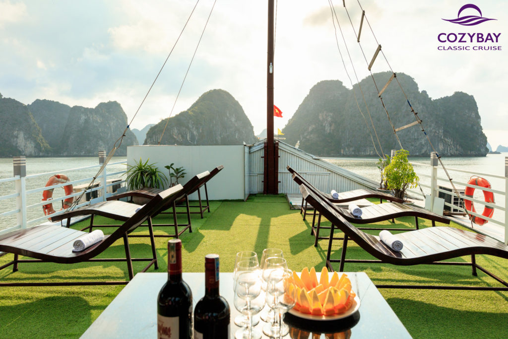 Cozy Bay Classic Cruise, halong bay cruise, overnight cruise in halong bay 2