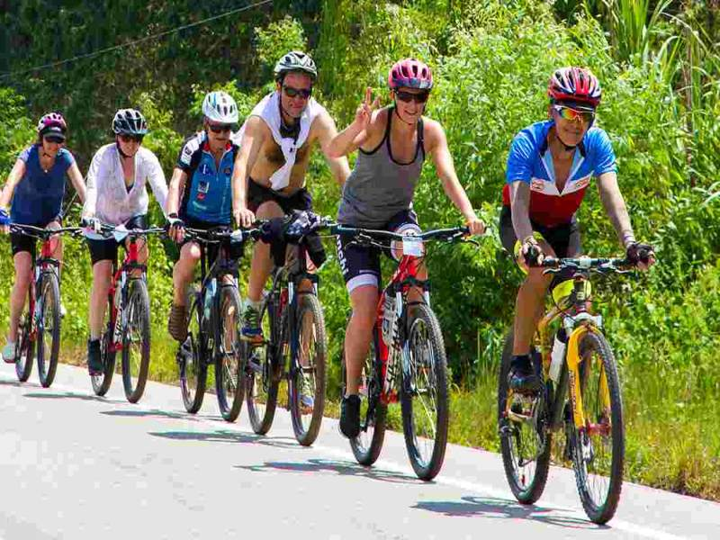 traveling to ninh binh by bicycle in vietnam, vietnam tours, ninh binh daily tours
