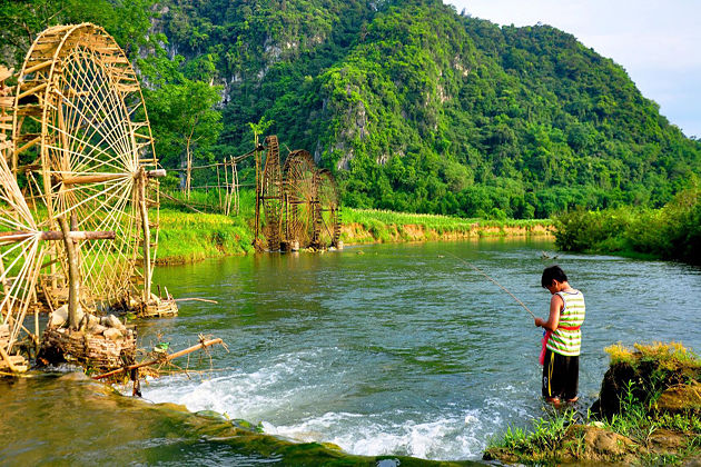 Visiting pu luong nature in thanh hoa province vietnam