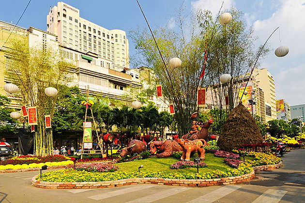 tet holiday in ho chi minh city, cozy vietnam travel
