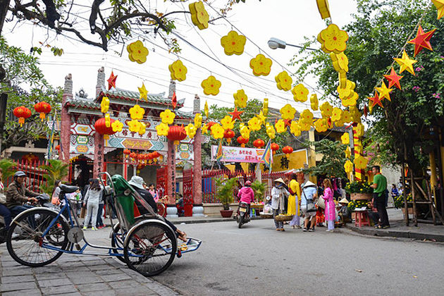 Tet holiday in hoi an vietnam, cozy vietnam travel