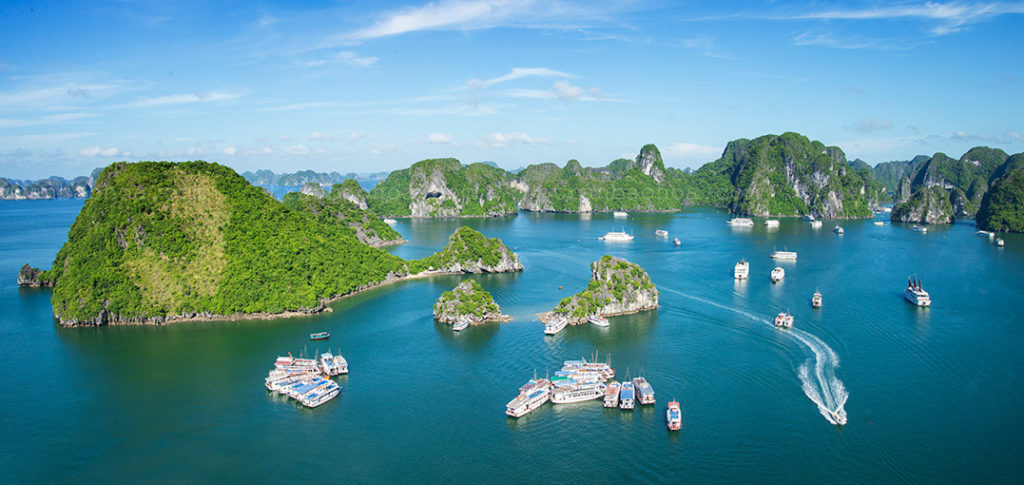 Halong bay 2 days 1 night Cruise Itinerary, halong bay 1 night cruise