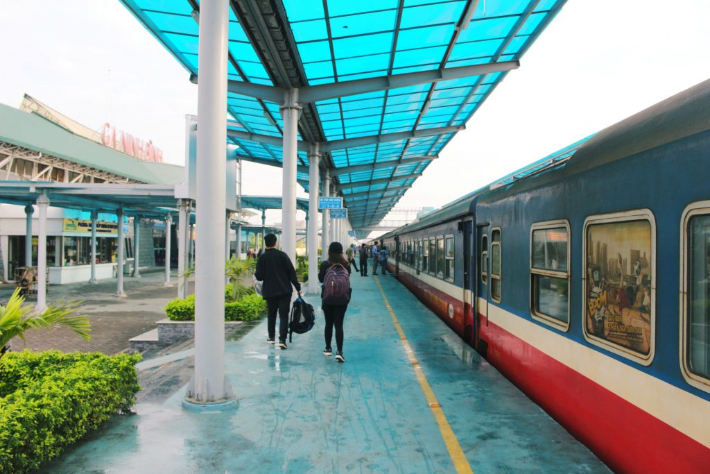Ninh Binh railway station, how to get to Tam Coc Vietnam from Hanoi