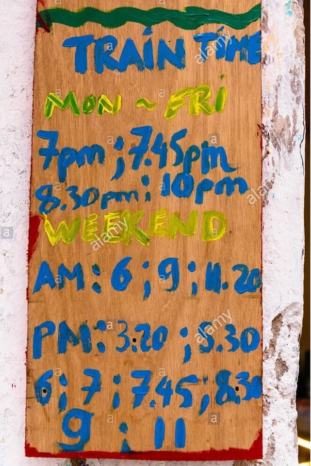 hanoi train street schedule hours