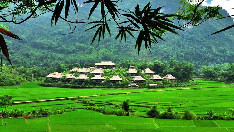mai chau resort, hoa binh, cozy vietnam travel